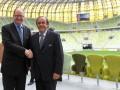 Платини удовлетворен подготовкой Гданьска и Вроцлава к Евро-2012