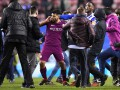 Агуэро напал на фаната Уигана из-за того, что тот плюнул в него - СМИ