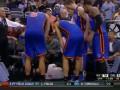 Игрок NBA вырубил арбитра