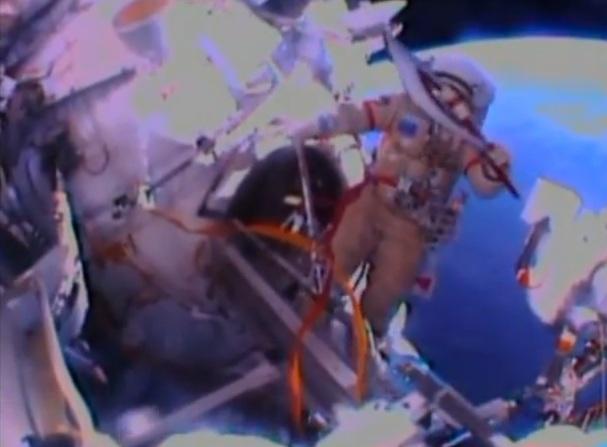 Факел побывал в космосе
