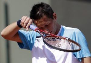 Украинский теннисист Сергей Стаховский побывал в детской онкоклинике Санкт-Петербурга