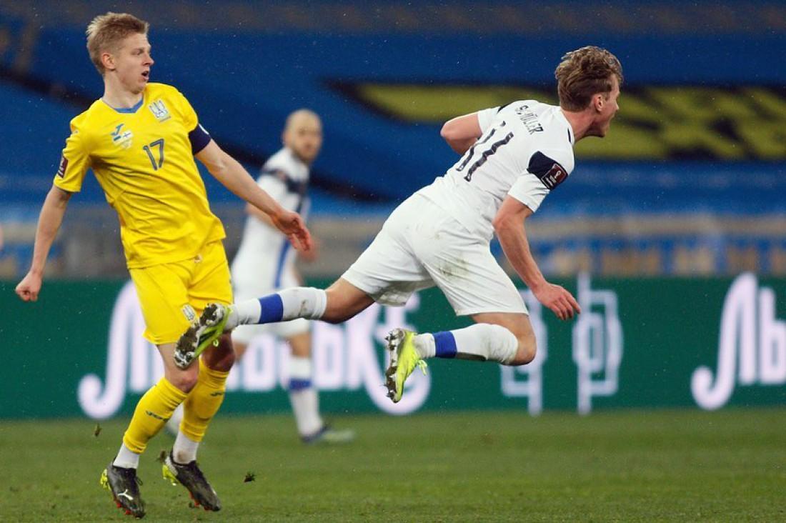 Украина и Финляндия сыграли вничью