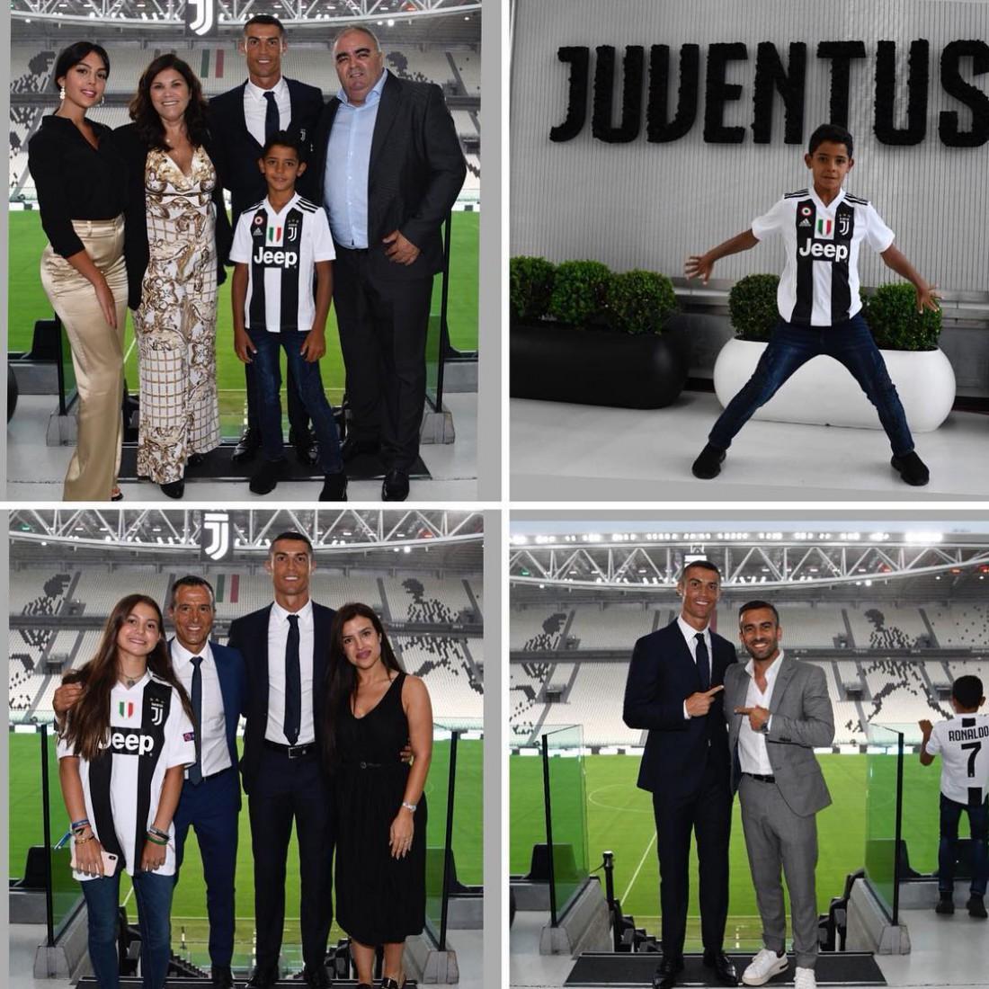 Криштиану Роналду сделал памятные снимки на стадионе Ювентуса