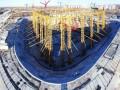 На стадионе ЧМ-2018 в Саранске сделали чуть больше половины работ