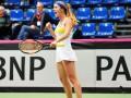 Сборная Украины по теннису легко обыграла Болгарию на Кубке Федерации