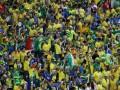 Видео, где болельщики забрасывают автобус сборной Бразилии яйцами, оказалось фейковым