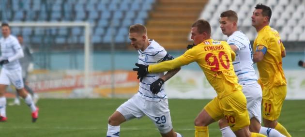Динамо на классе переиграло Ингулец