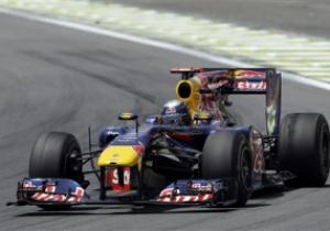 Гран-при Бразилии: Феттель стал лучшим в первой практике