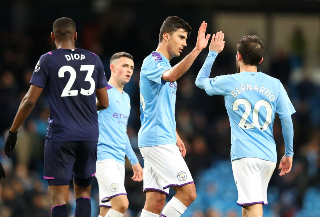 Манчестер Сити - Вест Хэм: видео голов и обзор матча
