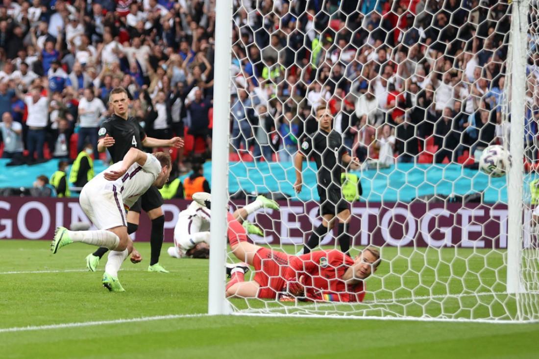 Сборная Англии - сборная Германии