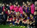 Игроки Барселоны разругались прямо во время матча