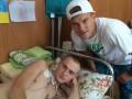 Футболисты Динамо навестили раненых бойцов АТО (фото)