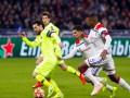 Лион и Барселона не смогли выявить победителя в матче 1/8 финала ЛЧ