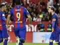 Барселона добыла волевую победу в матче с Севильей