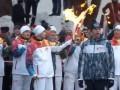 В Самаре сгорел факел во время эстафеты олимпийского огня