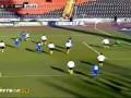Металлург (Донецк) - Динамо - 0:1 - гол Попова