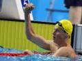 Украинский пловец Романчук выиграл две золотые медали этапа Кубка мира