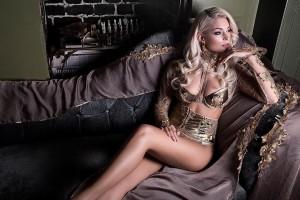 Красотка пятницы: роскошная блондинка, которая болеет за Манчестер Юнайтед