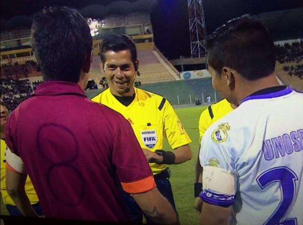 Команда из Боливии провела матч в футболках Ромы