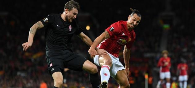 Манчестер Юнайтед уверенно обыграл Зарю