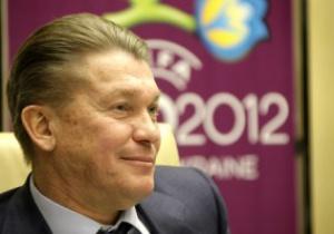 Блохин будет работать со сборной до конца Евро-2012