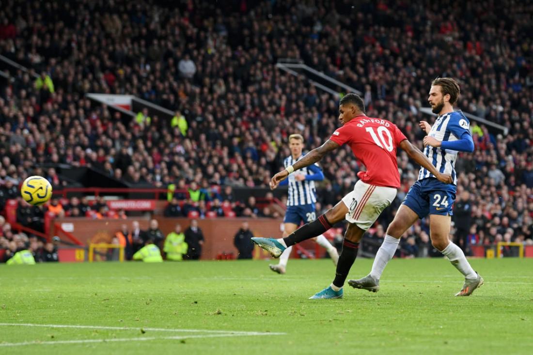 Манчестер Юнайтед переиграл Брайтон
