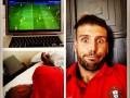 Мигель Велозу смотрел матч Украины и Англии из далекой Америки (ФОТО)