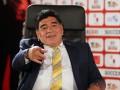 Перепил: Марадона жестко обматерил одного из болельщиков