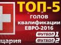 ТОП-5 голов сборной Швейцарии в квалификации на Евро-2016