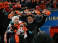 Преданные люди: Как фанаты за Шахтер на матче с Викторией болели (ФОТО)