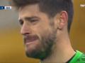 Голкипер Бешикташа расплакался после одного из голов Динамо