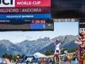 Украинка Беломоина выиграла этап Кубка мира