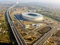 Сверху видно все. Стадион к Евро-2012 во Вроцлаве с высоты птичьего полета