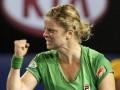 Клийстерс празднует триумф на Australian Open