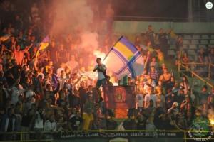 Разгром в Харькове и огонь на трибунах: Лучшие фото 6-го тура чемпионата Украины