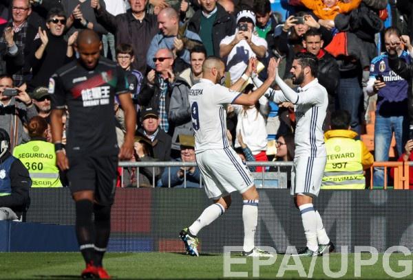 «Реал» увеличил беспроигрышную серию до39 матчей