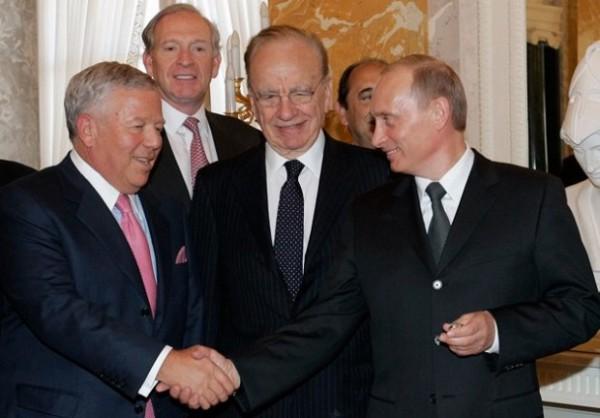 Владимир Путин и Роберт Крафт встретились в Санкт-Петербурге
