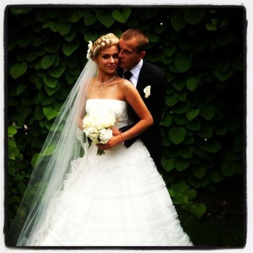 Свадебное фото Олега Гусева