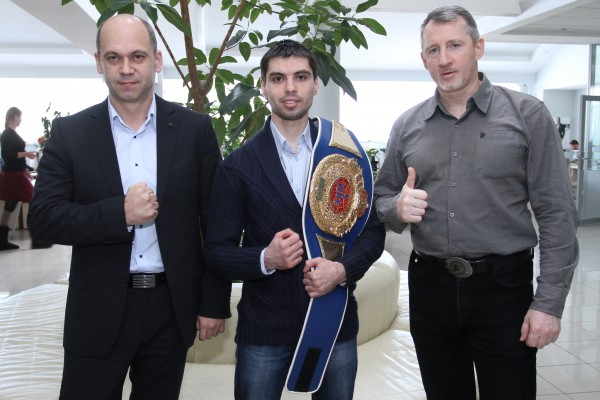 Олег Брусков, Тимур Ахундов и Александр Лихтер побывали в гостях у редакции