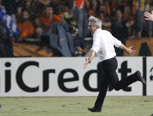 Йованович отмечает выход АПОЭЛа в групповой этап Лиги Чемпионов