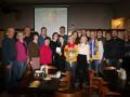 Эксперты биатлона-2 провели встречу в Киеве с Ниной Лемеш