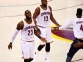 Кливленд установил рекорд по количеству очков за половину в финалах НБА