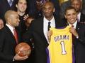 Лейкерс в гостях у Обамы