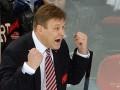 В КХЛ чуть не состоялась драка тренеров (видео)
