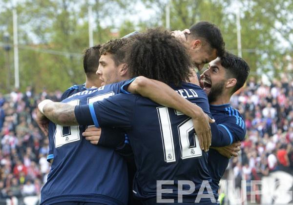 Реал Мадрид с трудом обыграл Райо Вальекано