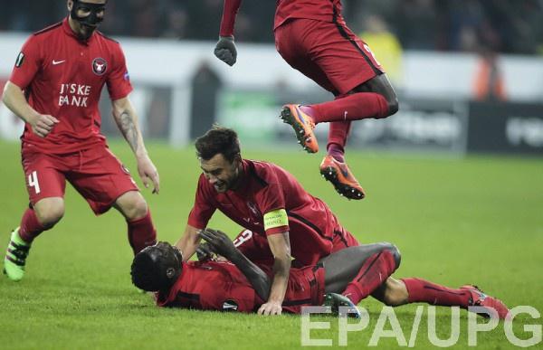 Датский клуб обыграл Манчестер Юнайтед