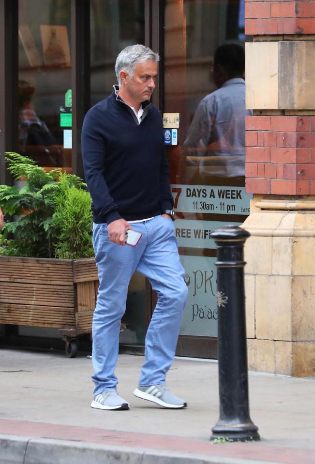 Жозе Моуринью отправился на завтрак в Манчестере