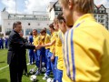 Президентское напутствие. Янукович встретился с игроками сборной Украины
