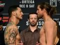 UFC Fight Night 123: Ортега победил Свонсона удушением и другие результаты