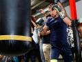 Ломаченко провел открытую тренировку перед боем с Линаресом